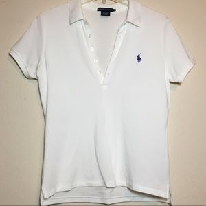 White Ralph Lauren Polo Like New